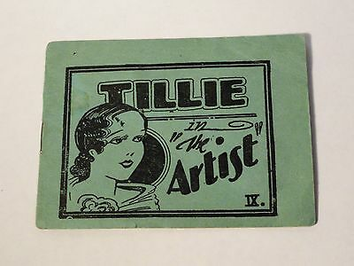 Vintage Tijuana Bible - Tillie the Artist - 8 Pages - Risque Comic