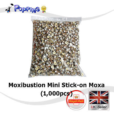 NEW 1000Pcs Medical Moxibustion Acupuncture Mini Moxa Cone DB201