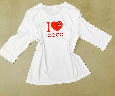 CHANEL*Top*Gr.S*I love COCO*Oberteil*Bag*Tasche*Blogger* CC*Shirt