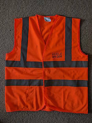 ADELE high visibility vest World Tour 2017