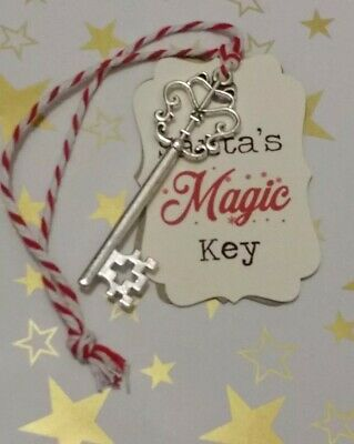 Santa's Magic Key Christmas Ornament Decoration Kids Children Fun July