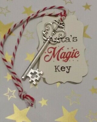 Santa's Magic Key Christmas Ornament Decoration