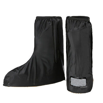 Motorcycle Biker Waterproof Rain Anti-Slip Boots Shoes Guard Cover Reflective AU