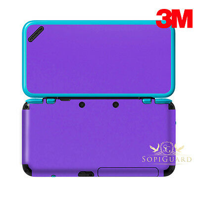Sopiguard Chameleon Purple Carbon Fiber Vinyl Skin Full Body For New 2ds Xl Ll Video Games & Consoles Video Game Accessories