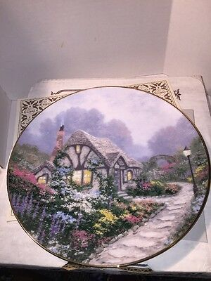 Knowles Cottages Of England Collectors Plate Chandlers Cottage #9670A