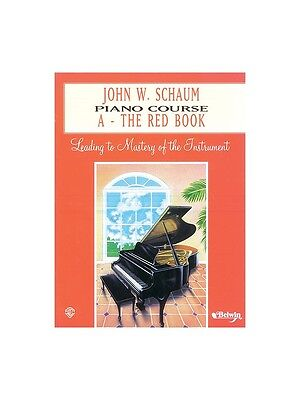 John WSchaum Piano Course A The Red Learn to Play Present MUSIC BOOK Piano