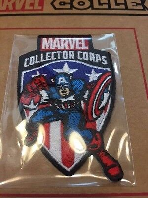 Funko Marvel Collector Corps First Appearance Avengers Captain America patch