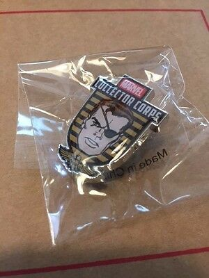 Funko Marvel Collector Corps First Appearance Avengers Nick Fury pin MIP