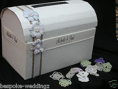 Wedding Chest Post Box  XL wishing well Shabby Chic Vintage favours centrepiece