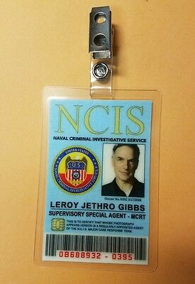 NCIS TV Series ID Badge - Special Agent Gibbs costume cosplay