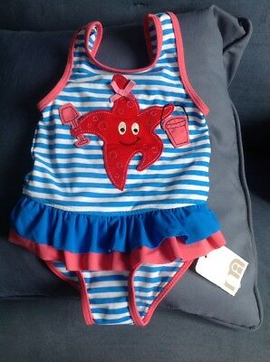 BNWT SWIMSUIT FOR BABY GIRL AGED 9/12 Mths, Mothercare