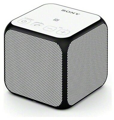Sony SRSX11 Portable Bluetooth Speaker - White RRP £60