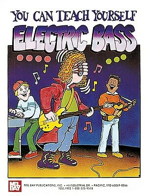 You Can Teach Yourself Electric Bass Learn to Play MUSIC DVD Bass Guitar