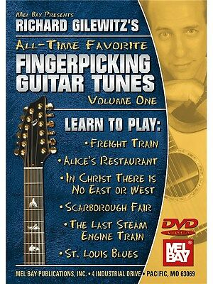 Richard Gilewitz All-Time Favorite Fingerpicking Tunes Volume 1 GUITAR MUSIC DVD