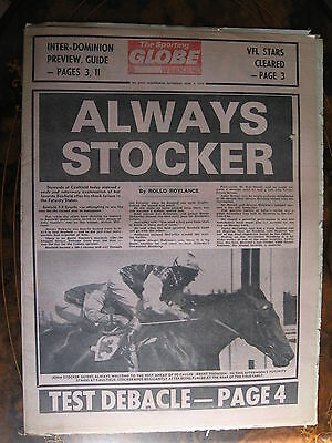 Sporting Globe MARCH 4 1978 Bonfield Swab Caulfield