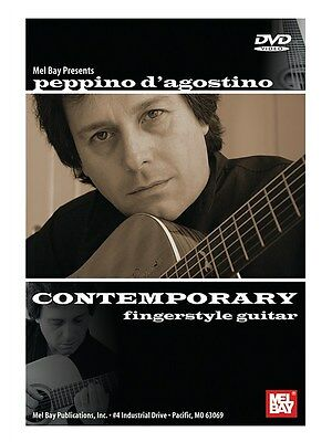 Peppino D'Agostino Contemporary Fingerstyle Guitar Learn to Play MUSIC DVD