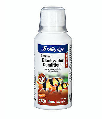 Waterlife Humaquat Blackwater Conditions Ideal For Acid Water 250 Bottle