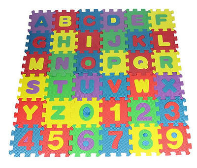 Kids Play Mats Eva Large Foam Floor Alphabet Childrens Puzzle Mat Tiles Numbers