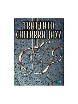 Trattato di Chitarra Jazz Learn to Play Present Gift MUSIC BOOK Guitar