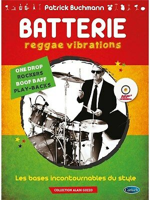 Patrick Buchmann Reggae Vibrations Learn to Play MUSIC BOOK & CD Guitar