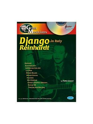 Django Reinhardt Great Musicians Series Django in Rome GUITAR TAB MUSIC BOOK
