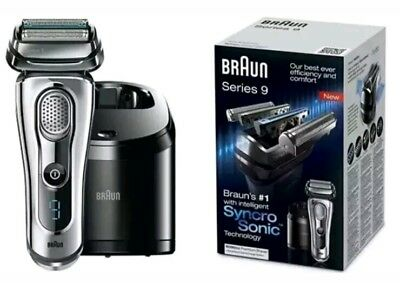Braun 9095CC Series 9 Men's Electric Foil Shaver Wet Dry Cordless. New In Box