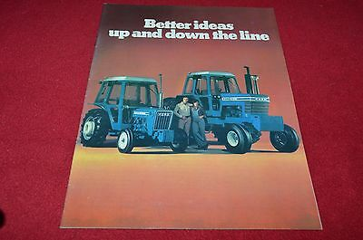 Ford Tractor Buyers Guide For 1977 Dealer's Brochure YABE14