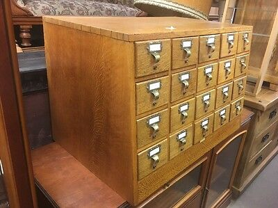 Vintage Libraco London Index Cabinet Ti3028