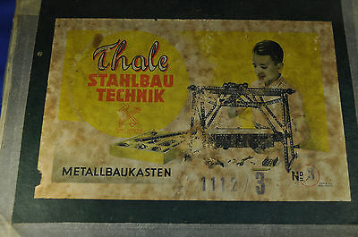 Modellbaukasten / Metal Construction Kit Thale No. 3, DDR / GDR, 1950er / ies
