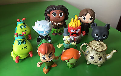 Funko Mystery Minis 11x Assorted - Game of Thrones / Harry Potter / Moana & More