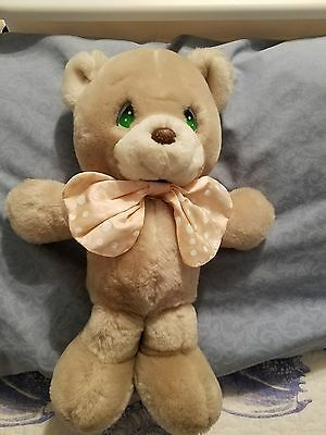 "CUBBY13"" Precious Moments Plush Teddy Bear with locket."