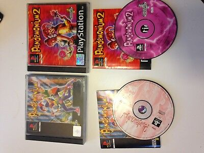 pandemonium 1 Et 2 Lot Playstation 1 Ps1