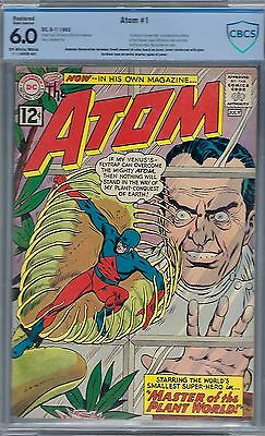 The Atom # 1  ; Cbcs 6.0 (Sa) Oww Pgs- 1St Atom In His Own Title - 1962