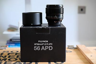 Fujifilm Fujinon XF 56mm F1.2 APD R Lens - 4 Months Old - UK Stock - Mint