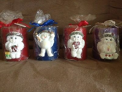 Set of 4 Dreamsicles Candles