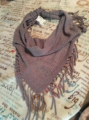 Justice Brand Scarf. New With Tags.