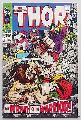 Thor #152 (May 1968, Marvel)