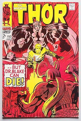 Thor #153 (Jun 1968, Marvel)