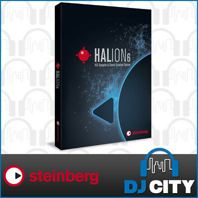 Steinberg HALion6 VST Sampler Sound Engine Plug-In Software Instrument - Boxed