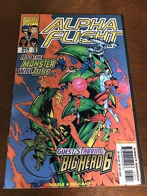 Alpha Flight 17 & Sunfire & Big Hero 6 First Appearance Of Big Hero 6 Disney