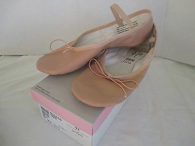 Women's American Ballet Theatre pink leather ballet slippers, NEW size 7 1/2