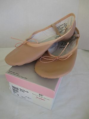 Women's American Ballet Theatre pink leather ballet slippers, NEW, size 9