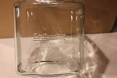 Embossed Northwestern Model 60 Gumball Machine Glass Globe