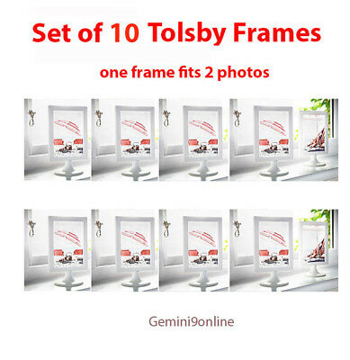 IKEA TOLSBY STANDING frame ~ White color ~ 2 photo/each ~ From CA ...