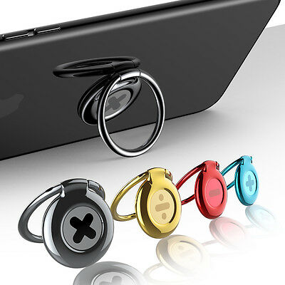 Phone Ring Holder Universal 360° Finger Ring Holder Stand For iPhone Samsung HTC