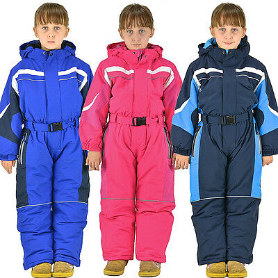 Children Snowsuit Winter Overalls Ski Suit Winter Suit Boys Girls Size 98-128