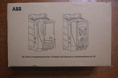 ABB Variable Frequency Inverter ACS355-03U-17A6-2+J400 5HP/4KW 200-240V