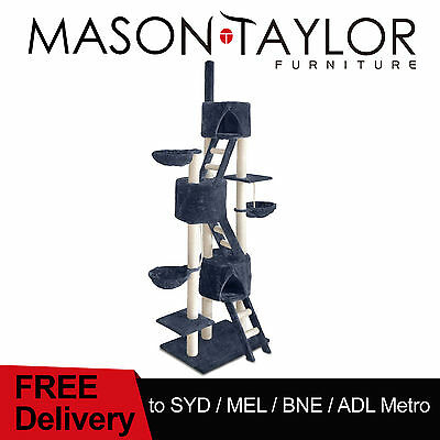 Mason Taylor Multi Level Cat Scratching Post Tree Scratcher Pole House Condo Gym