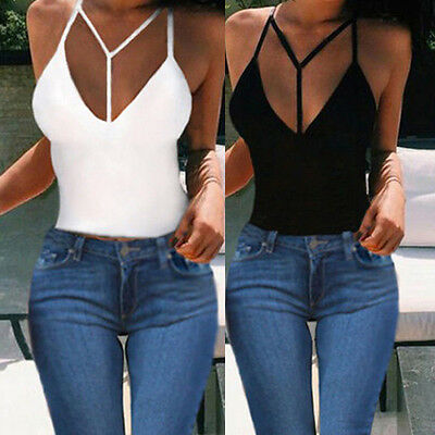 Women New Sexy Vest Top Sleeveless Shirt Blouse Summer Casual Ladies Tank Tops
