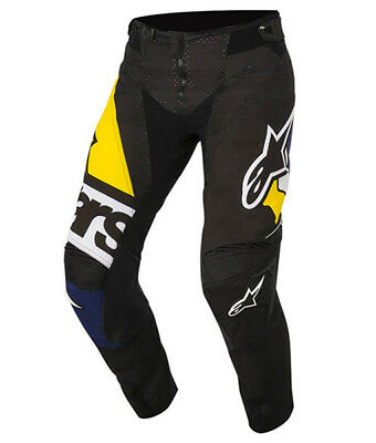 2018 Alpinestars Techstar Factory Pant Black/Yellow